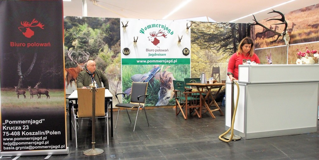 Pommernjagd on the Jagd & Hund fair 2017 - stand F18